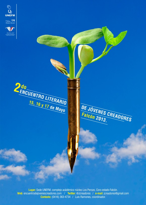cartel jovenes escritores 50x70